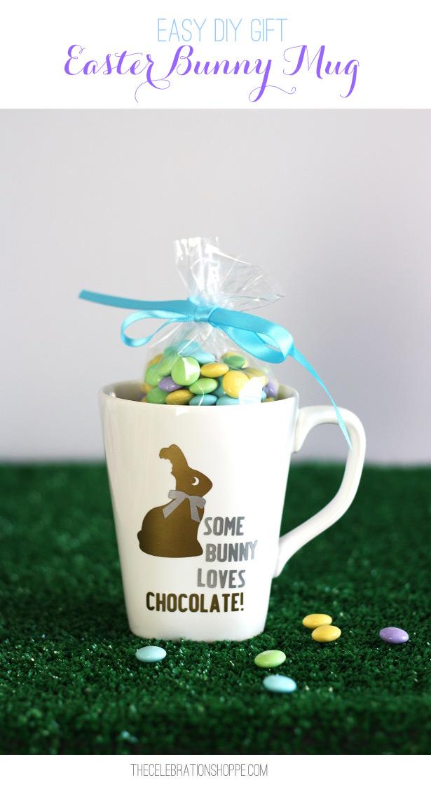 Easy diy gift easter bunny mug kim byers