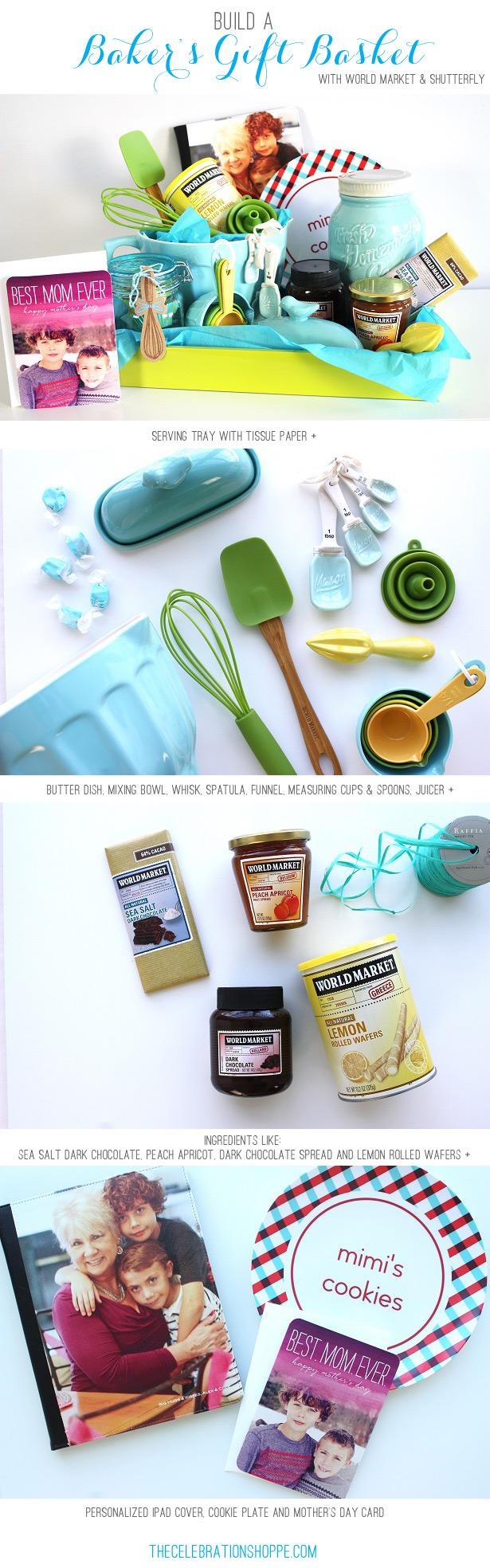 Build a baker's gift basket