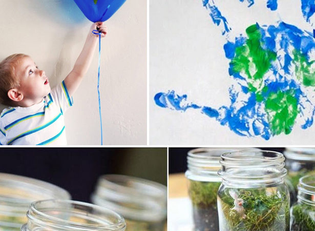 Earth day kid crafts