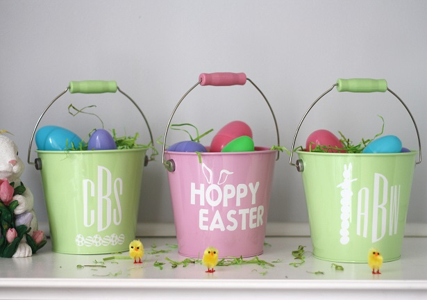 Personalized Easter Pails | Kim Byers