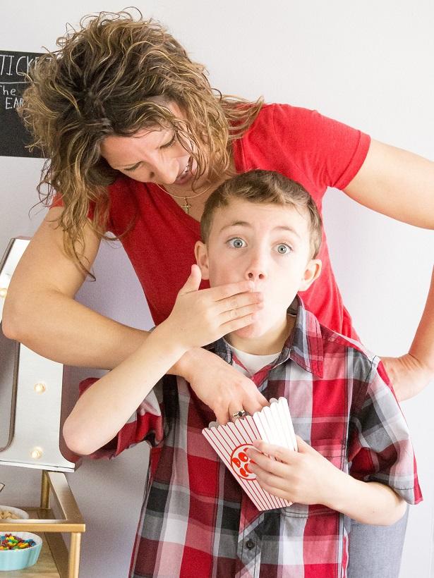 Movie Night Family Fun with Kim Byers |TheCelebrationShoppe.com