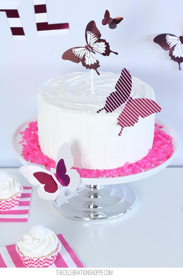 Butterfly Cake | Kim Byers, TheCelebrationShoppe.com