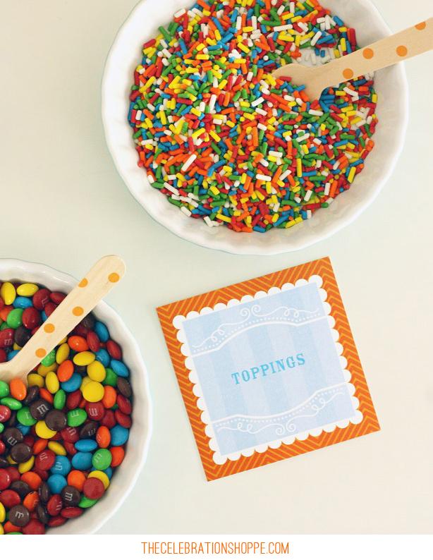 Sprinkles! Ice Cream Party Ideas Too! | Kim Byers, TheCelebrationShoppe.com