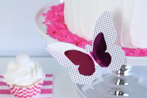 Foil Butterflies with Minc | Kim Byers, TheCelebrationShoppe.com