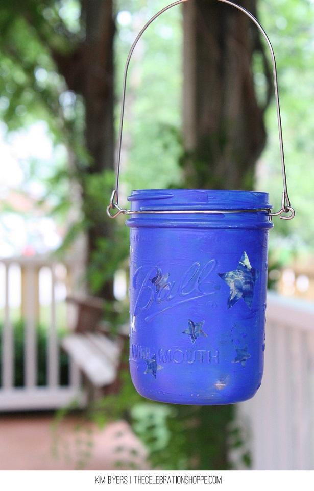 How To Make Mason Jar Luminaries | @kimbyers for @joann_stores