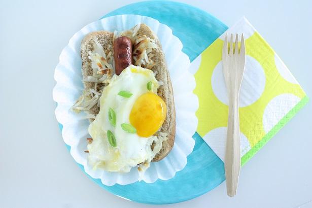 Breakfast Sandwich Recipe | @kimbyers