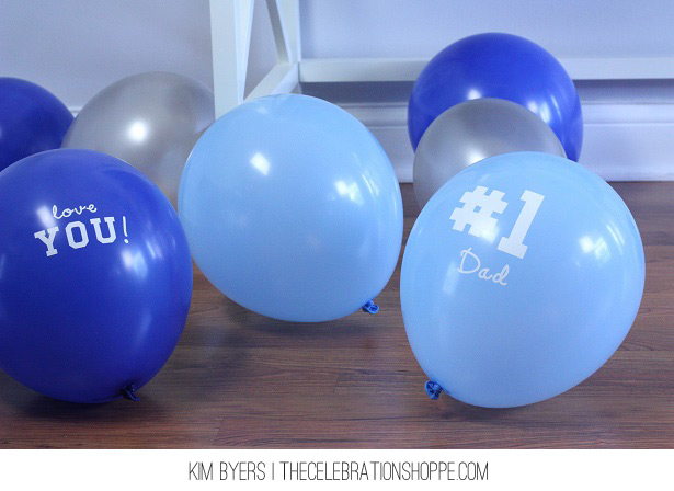 Father's Day Surprise Balloons | Kim Byers, TheCelebrationShoppe.com