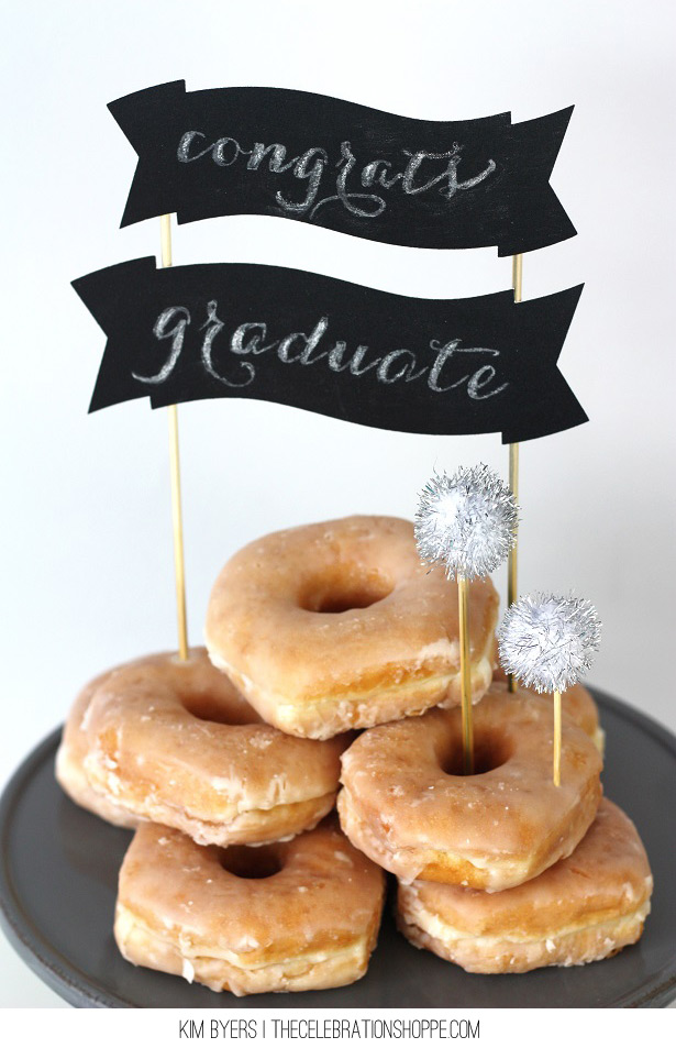 Chalkboard Cake Topper | Easy DIY With TheCelebrationShoppe.com