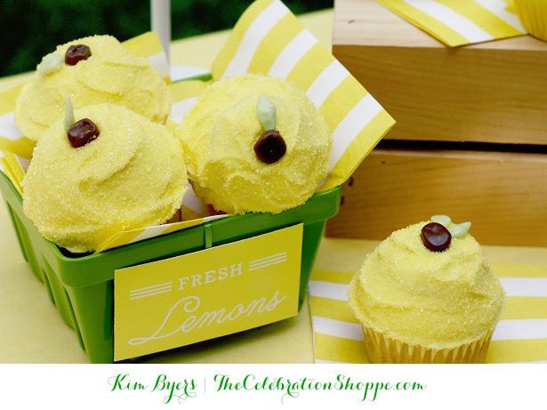 Lemon Cupcakes   Make them with @kimbyers