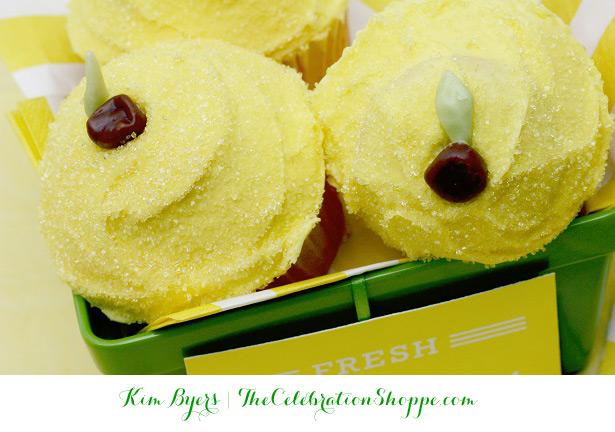 Make Lemon Cupcakes with @kimbyers of TheCelebrationShoppe.com