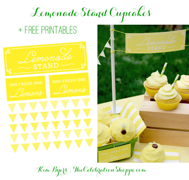 Mini-Lemonade Stand Free Printables   Kim Byers