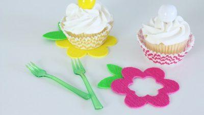 Flower cupcake coasters kim byers 1181 615wl