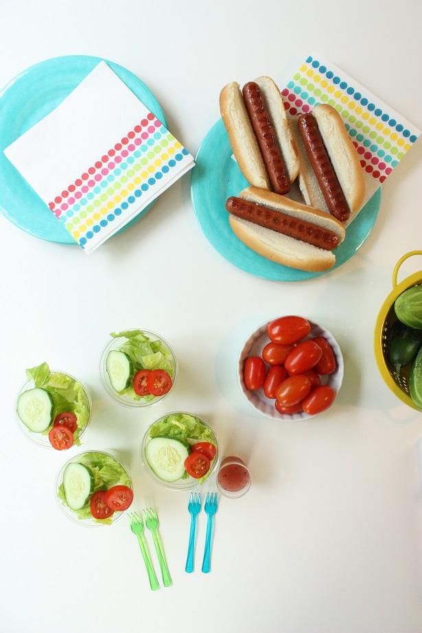 Summer Salad Sides + Hebrew National   Kim Byers