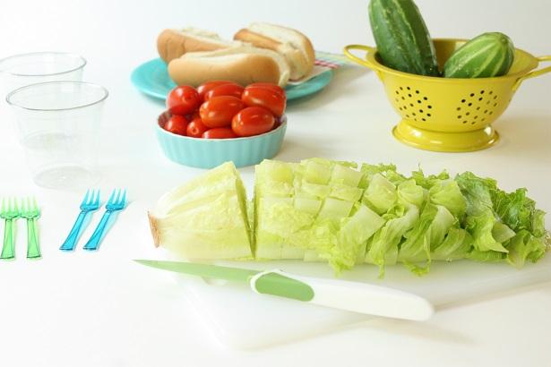 Mini Salads From My Garden   Kim Byers, TheCelebrationShoppe.com