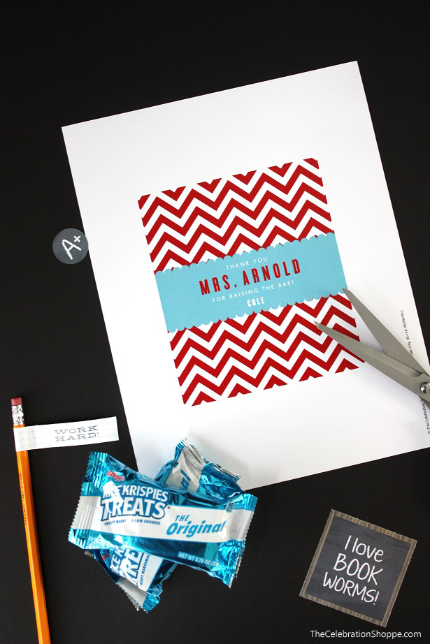 Teacher Appreciation Gift Idea + Free Printable from @kimbyers