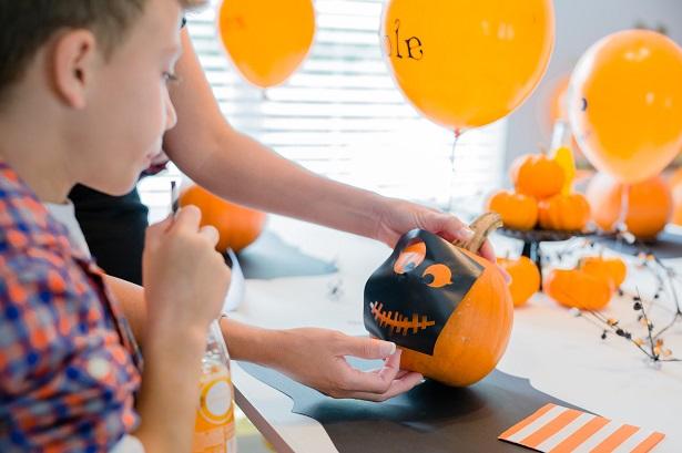 Halloween Pumpkin Carving Party | Kim Byers, TheCelebrationShoppe.com