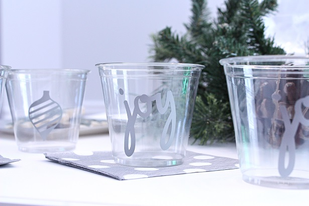 DIY Holiday Party Cups   Kim Byers