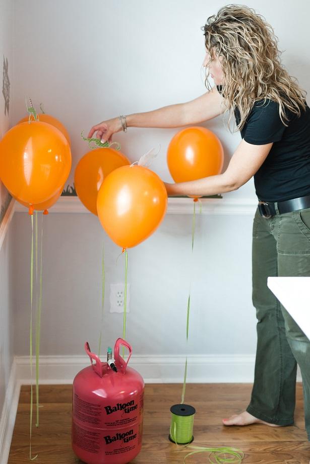 DIY Balloon Pumpkin Patch   Kim Byers, TheCelebrationShoppe.com