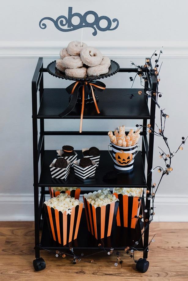 Halloween Party & Bar Cart | Kim Byers