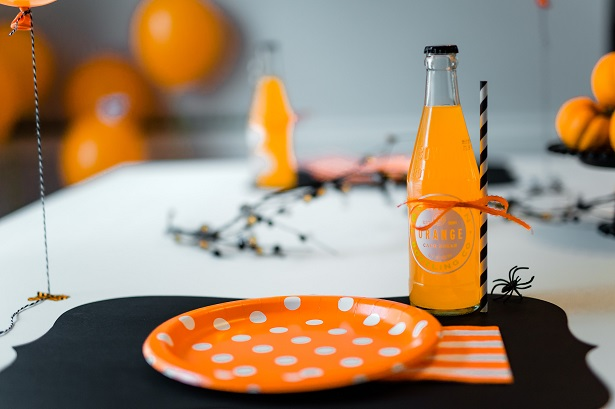 Halloween Party Placesetting | Kim Byers