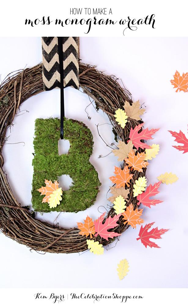 1 how to make a monogram wreath kim byers 77931