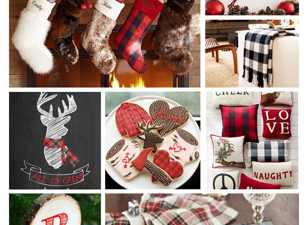 Go mad for plaid this holiday