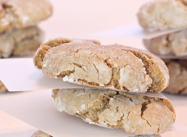 Homemade gingersnap cookies kim byers