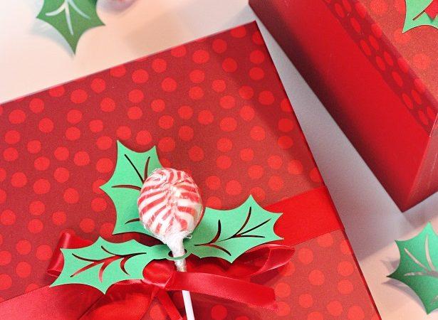 1 christmas holly papercraft kim byers 9518sm