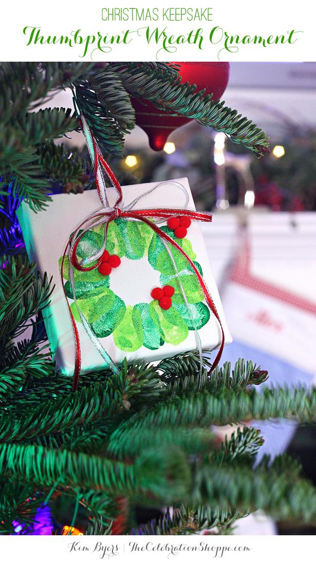 1 thumbprint wreath ornament kim byers 9048wl