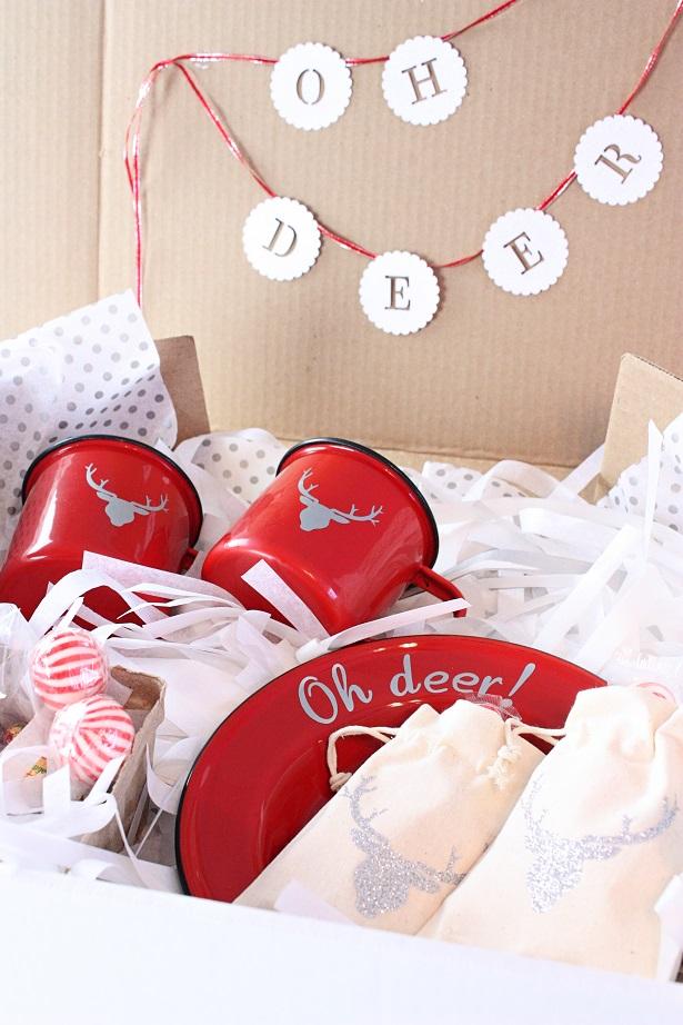 OH Deer! Secret Santa Box | @kimbyers TheCelebrationShoppe.com