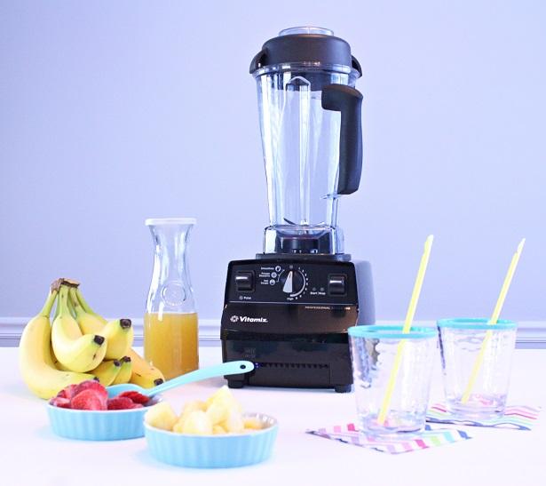 Strawberry Banana Pineapple Smoothie | @kimbyers TheCelebrationShoppe.com