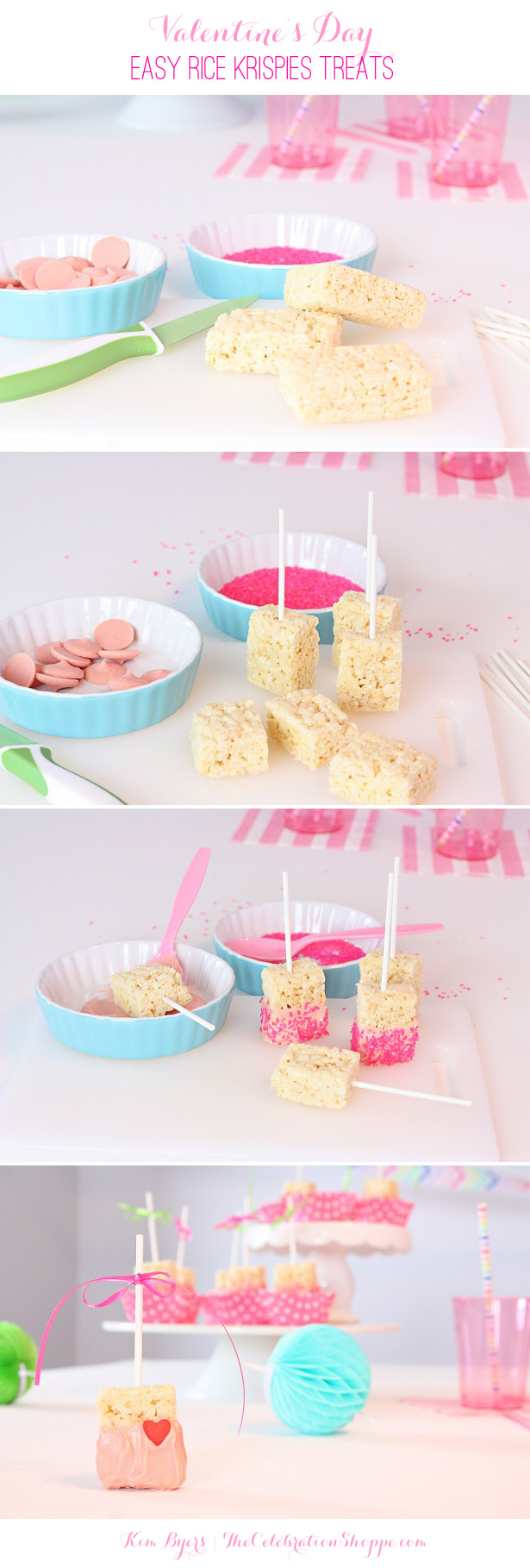 Make easy Rice Krispies Treats for Valentine's Day