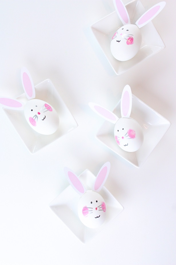 DIY Easter Egg Easter Bunnies | @kimbyers TheCelebrationShoppe.com