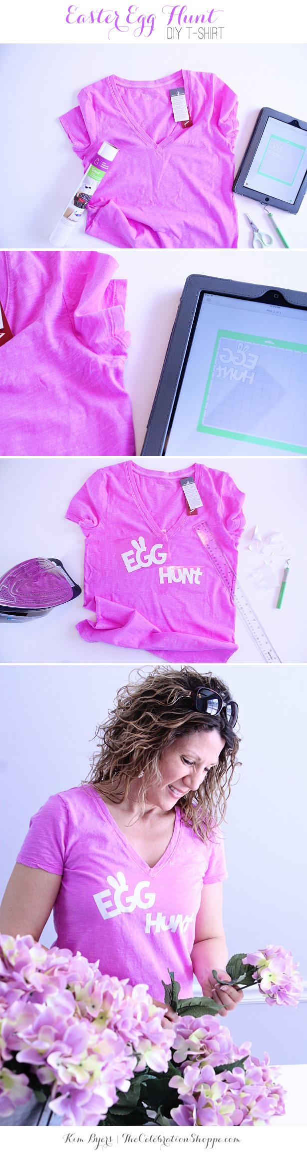 Easter Egg Hunt DIY T-Shirt | @kimbyers
