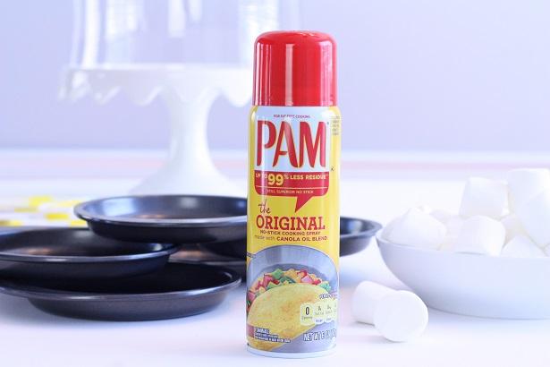 PAM makes baking easier!