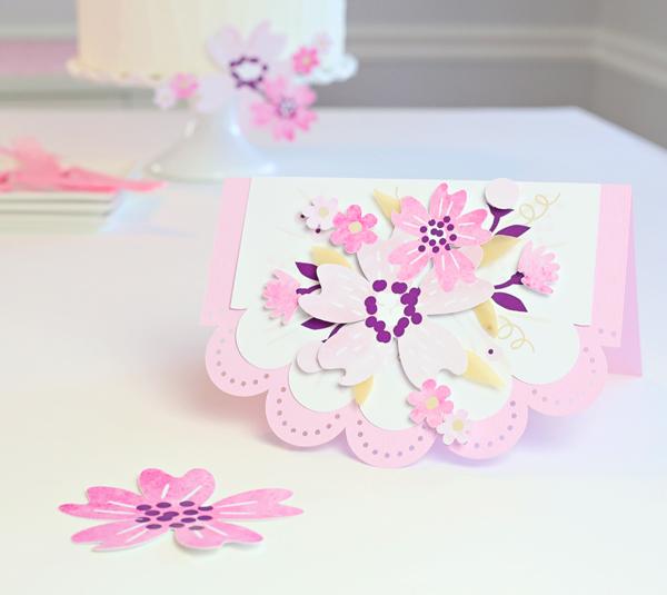 Make A Watercolor Flower DIY Card | Kim Byers