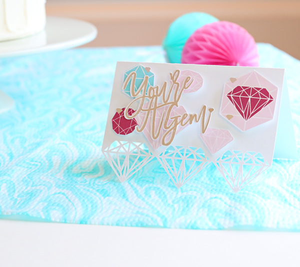 Card Making Idea - You're A Gem | Kim Byers