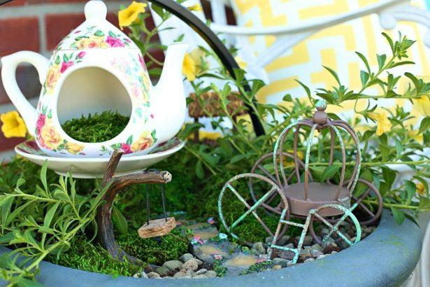 Cinderella Fairy Garden | Kim Byers