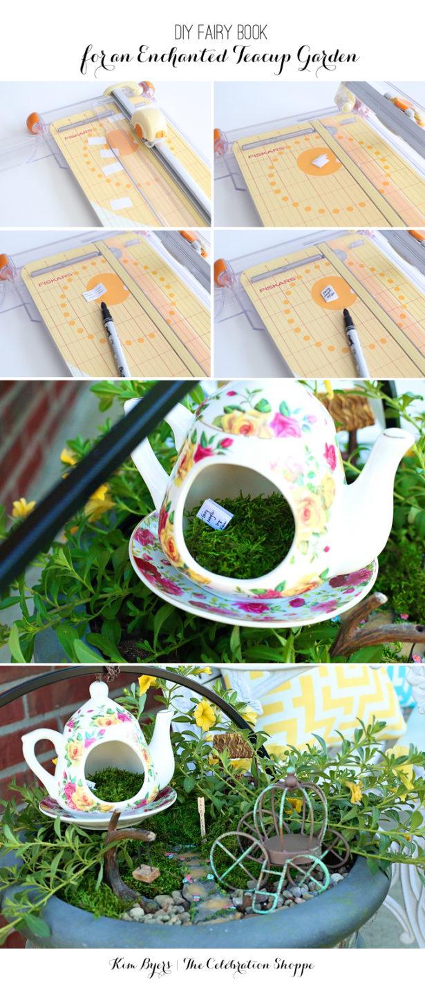 Make A Book For Your Fairy Garden | Kim Byers