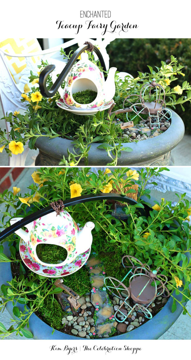 Make An Enchanted Fairy Garden | Kim Byers