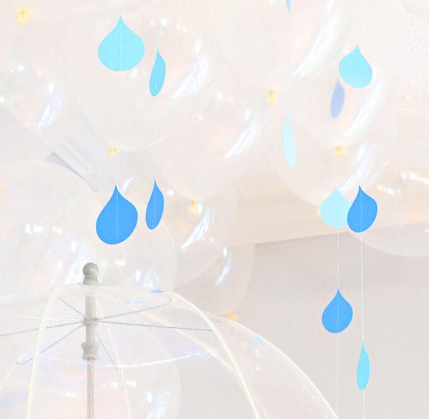 Sew a raindrop banner kim byers