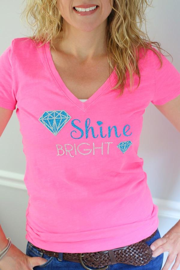 DIY Shine Bright Tee | Kim Byers