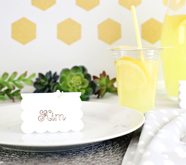 Easy DIY Placecard Crafts | Kim Byers