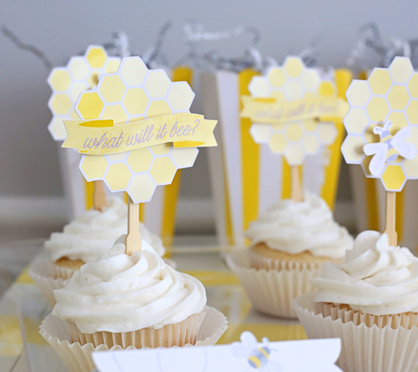 Paper Craft Cupcake Toppers with Kim Byers & Cricut