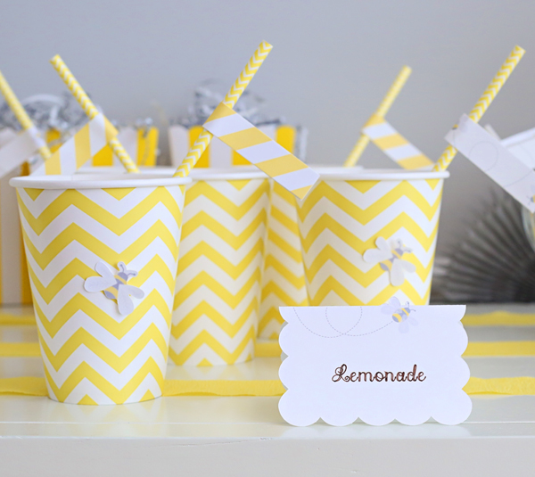 Easy DIY Paper Craft Placecards | Kim Byers