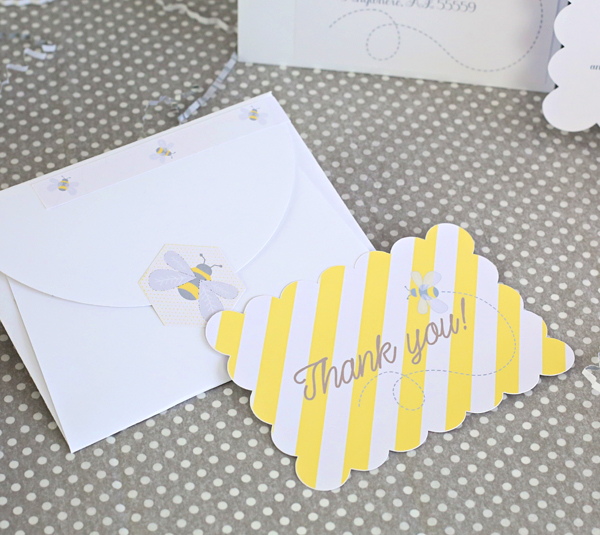 Bee Thank You Notes | Kim Byers