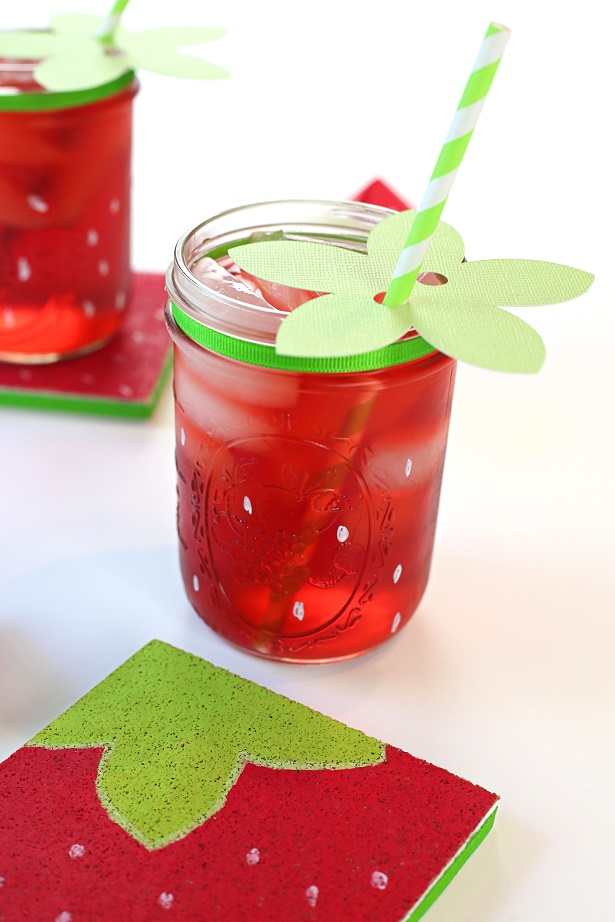 Easy Strawberry Craft Idea   Kim Byers