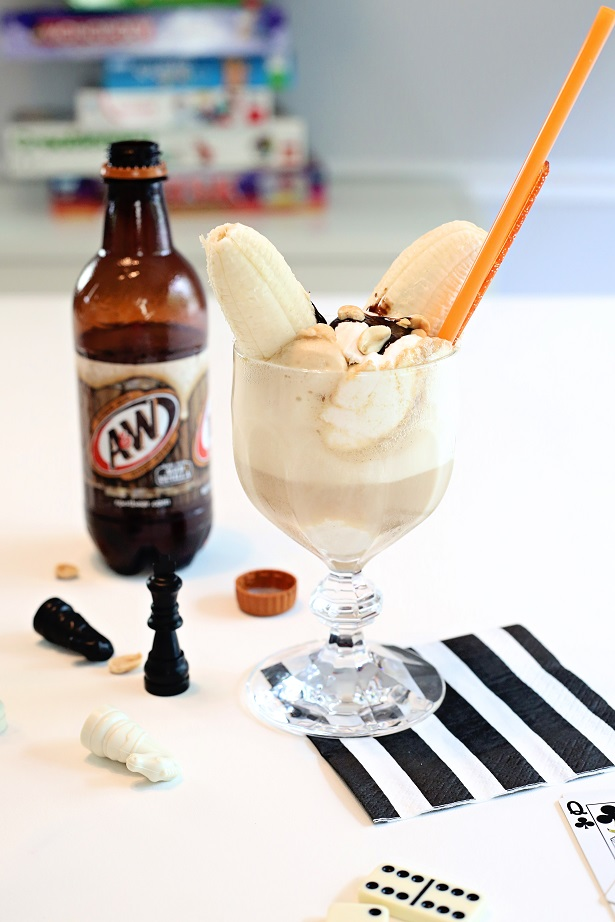 Hot Chocolate Root Beer Floats | Kim Byers