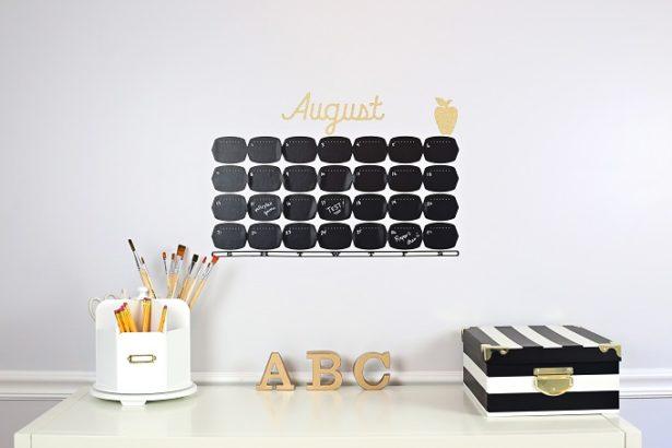 Back to School Chalk Calendar | Kim Byers