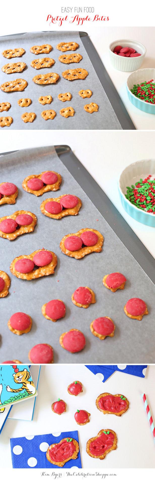 Make Easy Apple Pretzel Snacks
